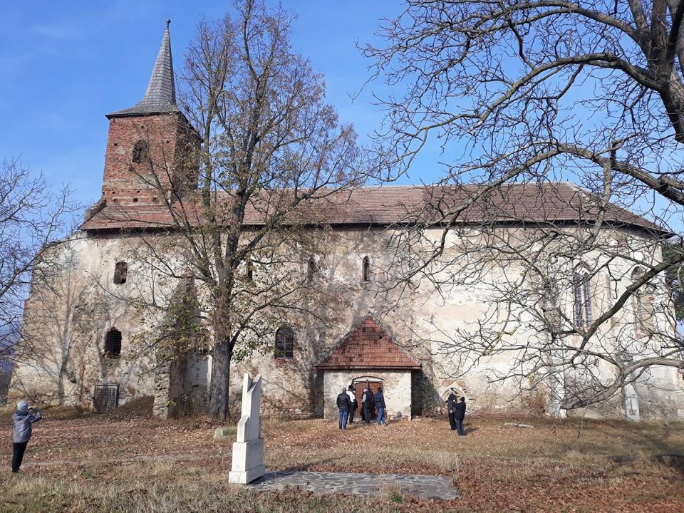 Ősi protestáns templom Alvincen az anabaptisták erdélyi központjában