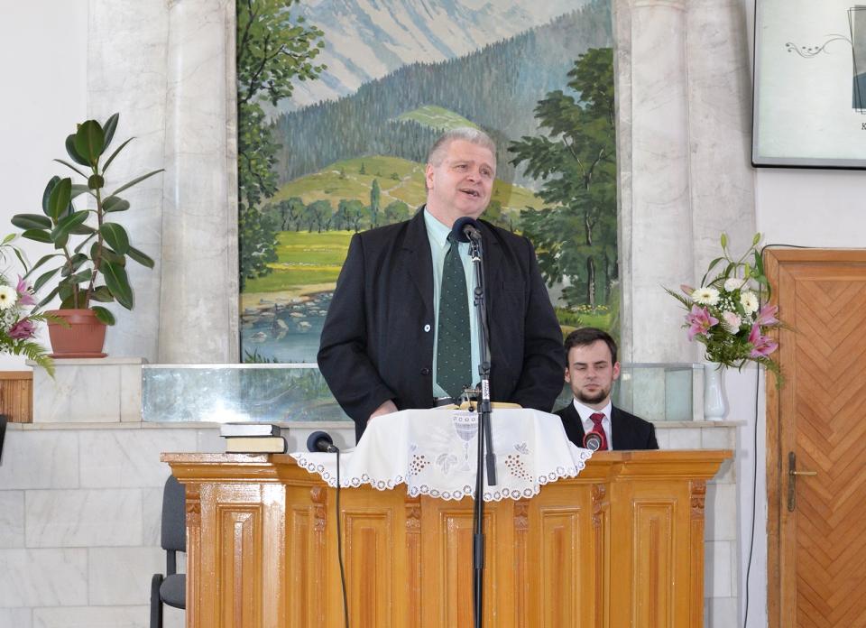 Pardi Félix, a Szövetség elnöke