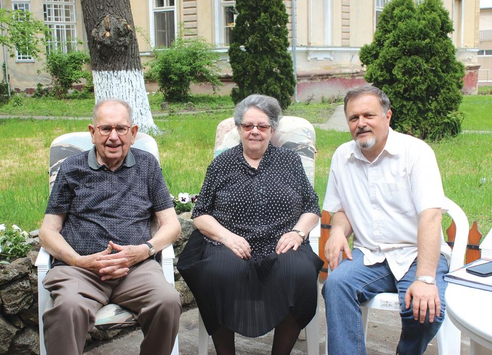 Telegdi Imre és az otthon névadó támogatói, Noomék