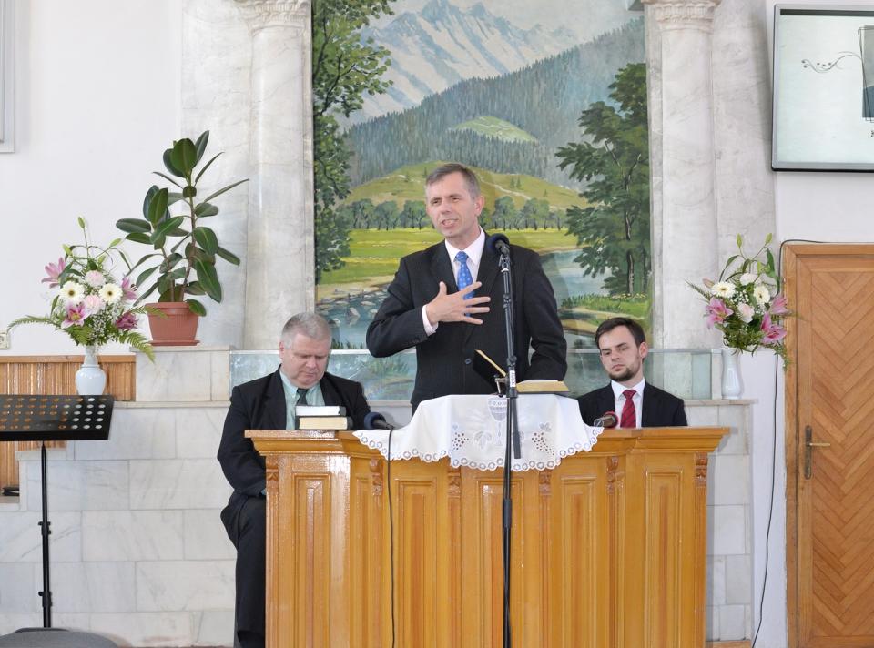 Borzási Pál, a Szövetség főtitkára